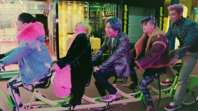 The Vans have a TOP in the clip FXXK IT BIGBANG - Youtube Outfits and Products