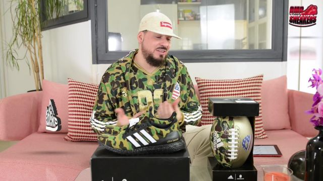 """The adidas Ultra Boost 4.0 military Uncle Gibbs in BAPE X ADIDAS ULTRABOOST """"SUPER BOWL"""" - Youtube Outfits and Products"""