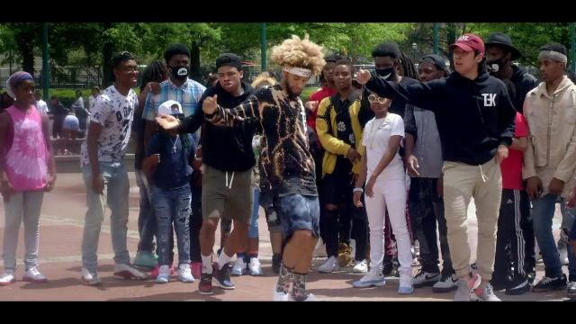 The adidas yeezy boost V2 core black white in the clip Rolex Ayo & Teo - Youtube Outfits and Products