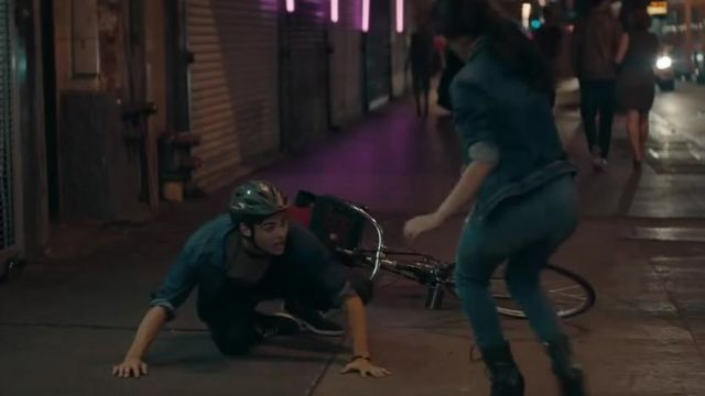 Fashion Trends 2021: The bicycle helmet outfit worn by a man in the clip from Havana to Camila Cabello Feat. Young Thug