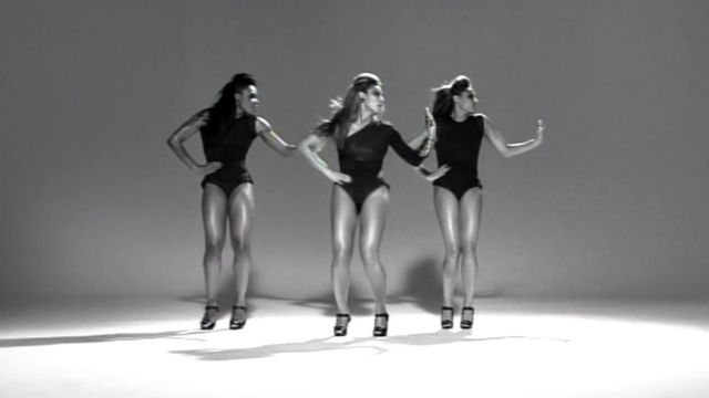 The body asymmetrical black outfit worn by Beyoncé in her music video Single Ladies - Youtube Outfits and Products