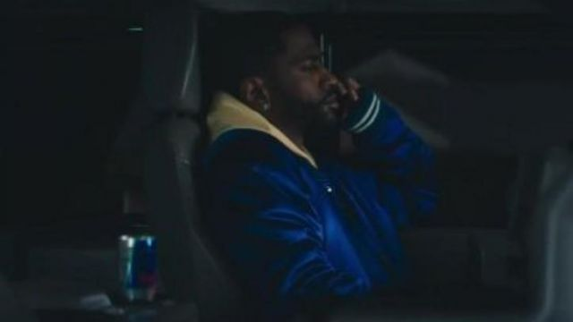 The can of Red Bull Energy Drink in the clip to Jump out the window of Big Sean - Youtube Outfits and Products