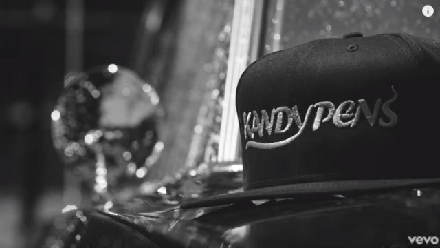 The cap KandyPens in the clip self-made Bryson Tiller - Youtube Outfits and Products