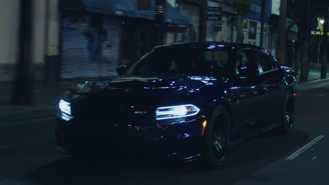The car, 2017 Dodge charger SRT Hellcat Charlie Puth in her video clip Attention - Youtube Outfits and Products