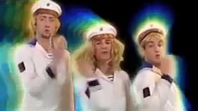 The costume of the sailor Bratisla Boys in the clip Stach stach - Youtube Outfits and Products