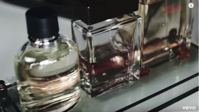 The eau de toilette Terre D Hermes, in the clip Forever Brian McKnight - Youtube Outfits and Products