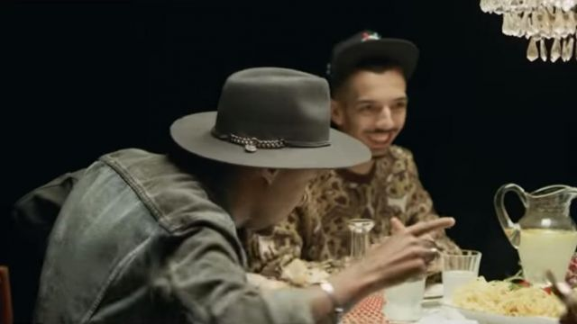 The grey hat Of Bornarel Soprano in the clip is that the rap of Bigflo & Oli with Black M - Youtube Outfits and Products