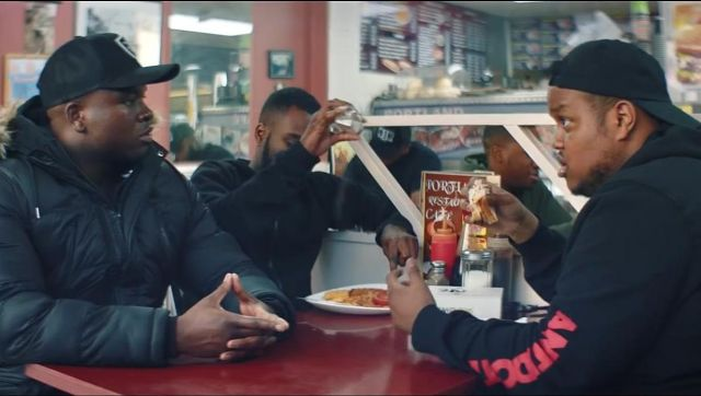 The hoody Antidote Clothing in the clip the Man don t dance Big Shaq - Youtube Outfits and Products