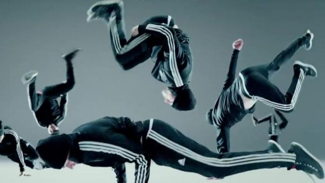 The jogging black Adidas in the clip No Broken Heats Bebe Rexha ft. Nicki Minaj - Youtube Outfits and Products