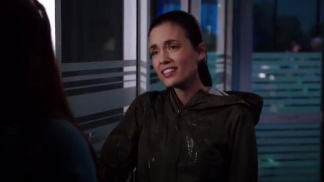The north face resolve 2 jacket outfit worn by Natalie Manning (Torrey DeVitto) in Chicago Med Season 5 Episode 2 - TV Show Outfits and Products