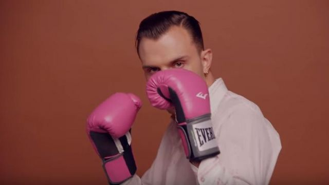 The pink boxing gloves Everlast in the clip Boys, Charli XCX - Youtube Outfits and Products