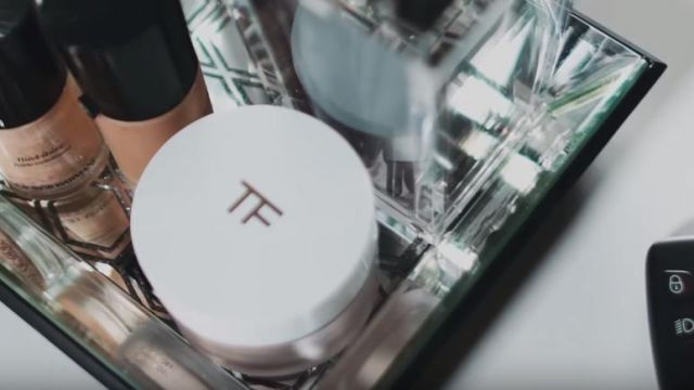 The pot of moisturizer Tom Ford in the clip Forever Brian McKnight - Youtube Outfits and Products