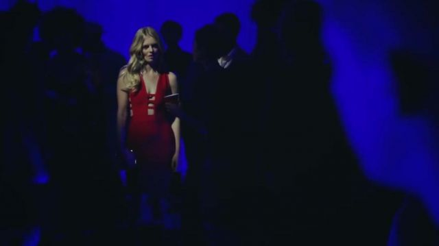 The red dress seen in the clip Attention of Charlie Puth - Youtube Outfits and Products
