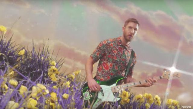 The shirt flowers Gucci outfit worn by Calvin Harris in his clip Feels - Youtube Outfits and Products
