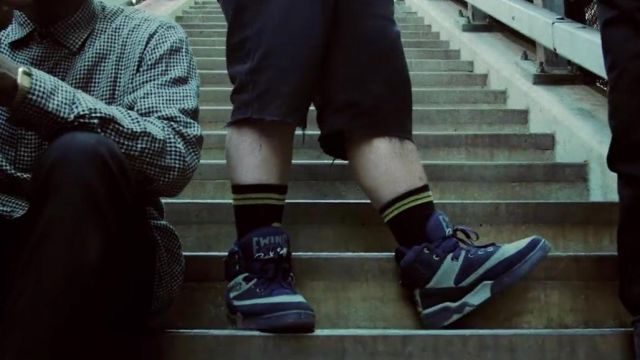 """The sneakers Ewing 33 HI """"Georgetown"""" in the clip Multiply A$AP Rocky - Youtube Outfits and Products"""