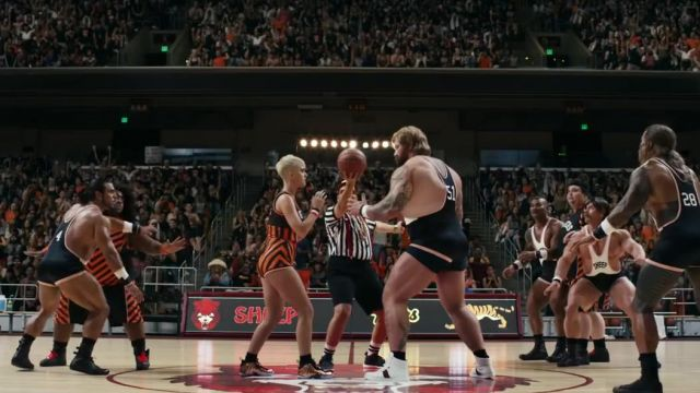 The sneakers Nike Air Foamposite 1 Copper of Katy Perry in the clip Swish Swish