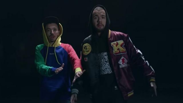 The sweatshirt hoodie Keith Haring x Element of Oli in the clip is that of the rap by Bigflo & Oli feat. Soprano, Black M - Youtube Outfits and Products
