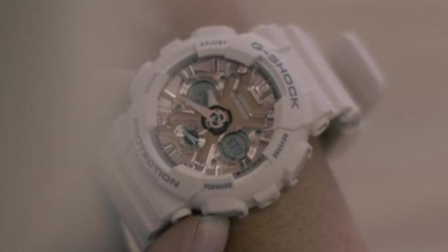 The watch Casio G-Shock range by Bebe Rexha in the clip Meant to Be (feat. Florida Georgia Line) - Youtube Outfits and Products