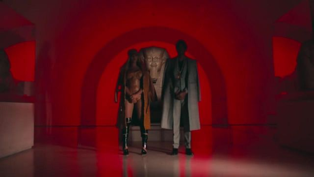 Thigh-high boots-spiral Y/Project from Beyoncé in the clip APESH**T of The Housings - Youtube Outfits and Products