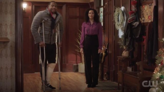 """Fashion Trends 2021: Timberland 6"""" Premium Boots Brown outfit seen on Galvin Burdette (Ser'Darius Blain) as seen in Charmed S01E09"""