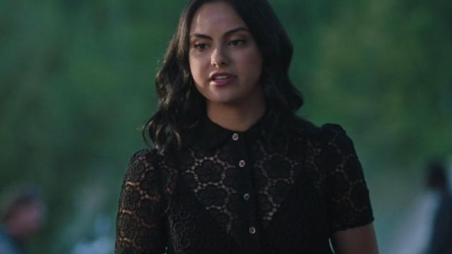 Top flower of Veronica Lodge (Camila Mendes) seen in Riverdale (Season 3 Episode 3) - TV Show Outfits and Products