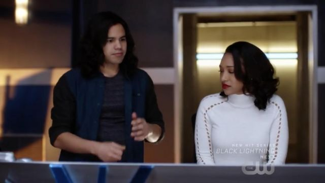 Fashion Trends 2021: Top of Iris West (Candice Patton) seen in The Flash Season 4E14