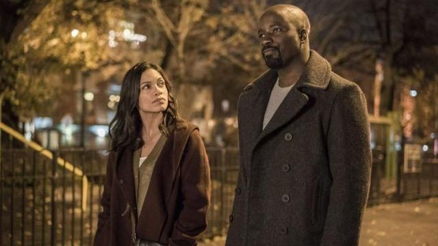 Trench coat turtle neck outfit worn by Luke Cage (Mike Colter) seen in Marvel's Luke Cage Season 1 Episode 7 - TV Show Outfits and Products