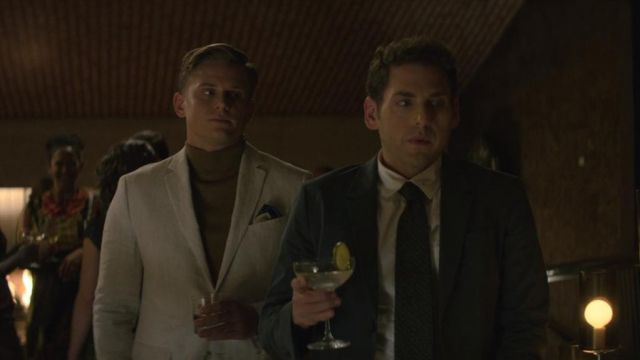 Turtleneck green Jed Milgrim (Billy Magnussen) seen in Maniac Season 1 Episode 3 - TV Show Outfits and Products