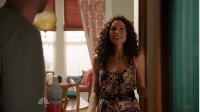 Tysa Perfect Maxi Dress in Woodstock outfit worn by Fiona (Minnie Driver) in About a Boy (S02E01) - TV Show Outfits and Products