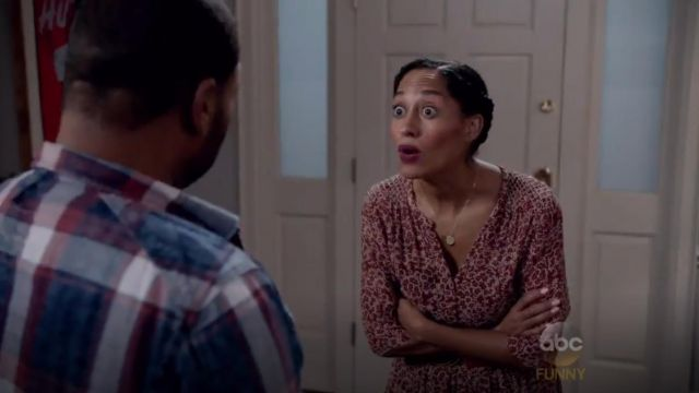 Ulla Johnson Majorelle Dress outfit worn by Rainbow Johnson (Tracee Ellis Ross) in black-ish (S02E02)