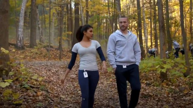 Under Armour ColdGear Infrared Tactical Leggings outfit worn by Alex Parrish (Priyanka Chopra) in Quantico (S01E09) - TV Show Outfits and Products