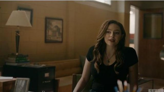 Urban Outfitters Black Short Sleeve Top outfit worn by Hope Mikaelson (Danielle Rose Russell) in Legacies Season 02 Episode 04 - TV Show Outfits and Products