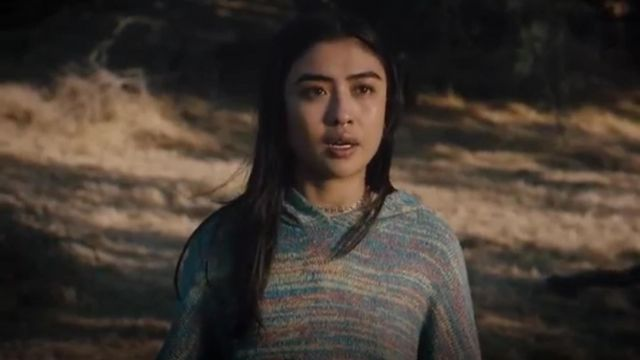 Urban Outfitters UO Space dye hooded pullover jumper outfit worn by Alex Portnoy (Brianne Tju) in Light as a Feather Season 2 Episode 16 - TV Show Outfits and Products