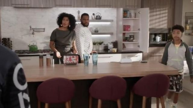 Van Sk8 Hi Sneakers outfit worn by Rainbow Johnson (Miles Brown) in black-ish Season 6 Episode 2 - TV Show Outfits and Products
