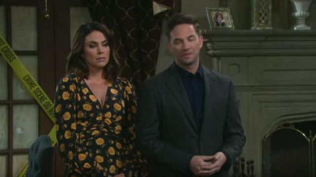 Veronica Beard Marion Dress outfit worn by Chloe Lane (Nadia Bjorlin) as seen in Days of Our Lives May 15, 2019 - TV Show Outfits and Products