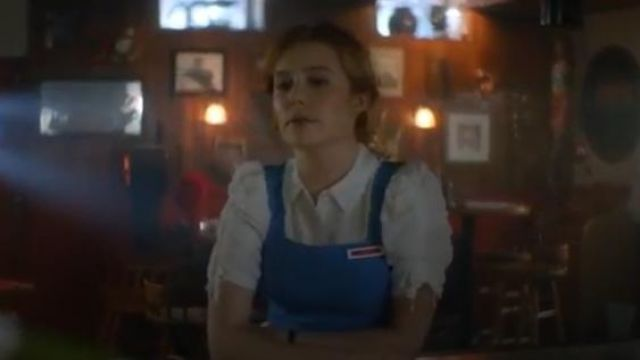 Veronica Beard White Carmine blouse outfit worn by Nancy Drew (Kennedy McMann) in Nancy Drew Season 1 Episode 1 - TV Show Outfits and Products