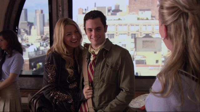 Vest rhinestone Serena van der Woodsen (Blake Lively) seen in Gossip Girl Season 1E10 - TV Show Outfits and Products