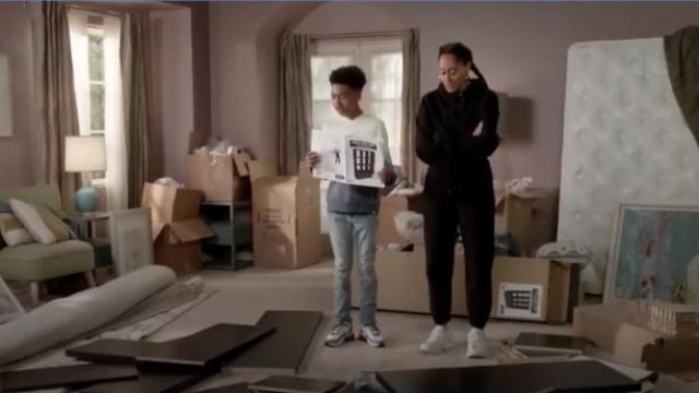 Victoria Beckham RBK VB New Joggers outfit worn by Rainbow Johnson (Tracee Ellis Ross) in black-ish Season 6 Episode 7 - TV Show Outfits and Products