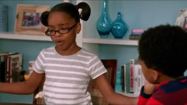 Vince French Terry Short Sleeve Dress outfit worn by Diane Johnson (Marsai Martin) in black-ish (S01E24) - TV Show Outfits and Products