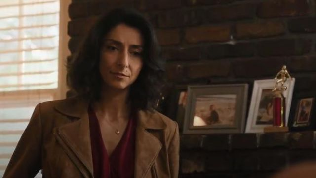 Vince Mock Wrap Top outfit worn by Special Agent Hannah Khoury (Necar Zadegan) in NCIS: New Orleans Season 6 Episode 3 - TV Show Outfits and Products