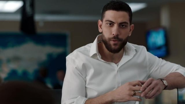 White shirt outfit worn by Special Agent Omar Adom 'OA' Zidan (Zeeko Zaki) in FBI (S01) - TV Show Outfits and Products