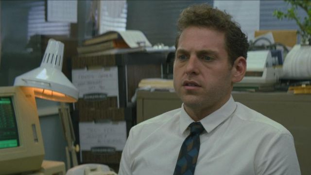 White shirt (without pocket) Owen Milgrim (Jonah Hill) seen in Maniac (Season 1 Episode 1) - TV Show Outfits and Products