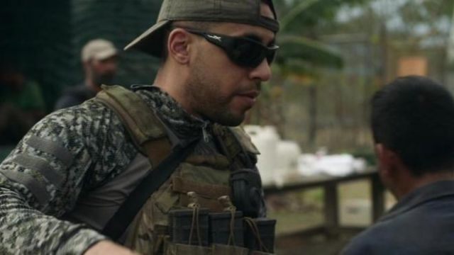 Wiley X Sunglasses in black outfit worn by a soldier in Tom Clancy's Jack Ryan (S02E08) - TV Show Outfits and Products