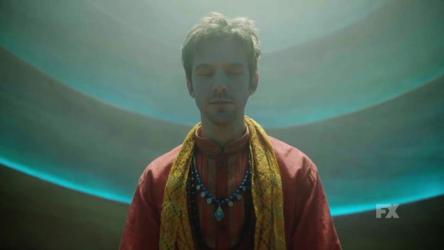 Yellow Embroidered Scarf outfit worn by David Haller (Dan Stevens) in Legion (Season 3) - TV Show Outfits and Products