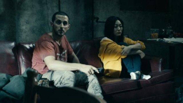 Yellow Hoodie outfit worn by The Female (Karen Fukuhara) as seen in The Boys (Season 01 Episode 4) - TV Show Outfits and Products