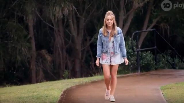 Zimmermann Heathers Floral Playsuit outfit worn by Angie Kent in The Bachelorette Season 05 Episode 10 - TV Show Outfits and Products