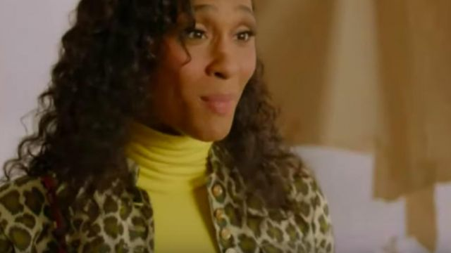 yellow turtleneck of Blanca Rodriguez (Mj Rodriguez) in Pose (Season02 Episode02) - TV Show Outfits and Products