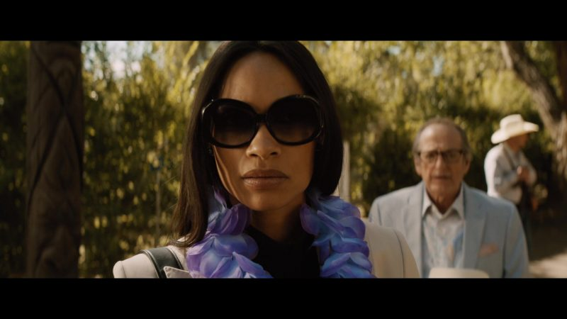 Oversized Sunglasses Worn by Rosario Dawson as Allegra 'Pick' Dill (Season 1 Ep. 3) - TV Show Outfits and Products
