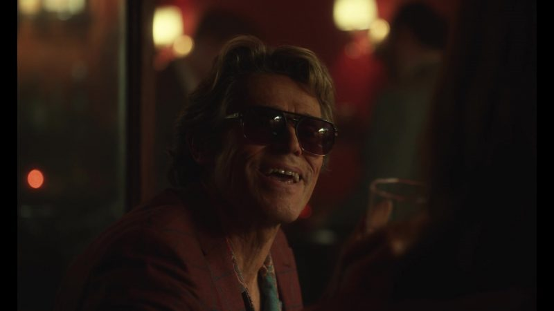 Sunglasses Worn by Willem Dafoe as Richard Dick McMahon in The Last Thing He Wanted - Movie Outfits and Products