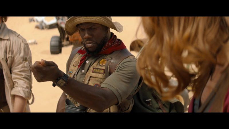 Wrist Watch Worn by Kevin Hart as Franklin 'Mouse' Finbar in Jumanji: The Next Level - Movie Outfits and Products